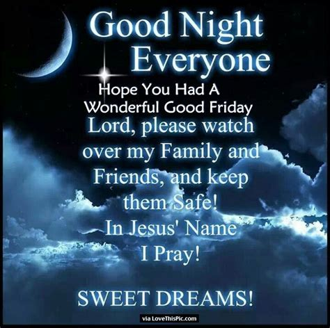 goodnight hope    wonderful good friday pictures