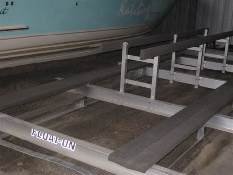 dry storage rack  catamaran  hull truth boating