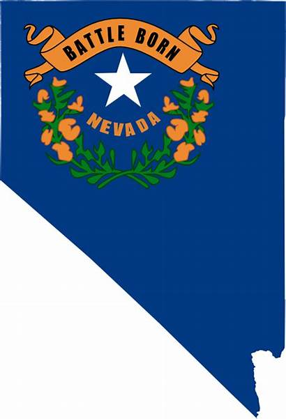 Nevada Clipart Clip Flag Map State Powerpoint