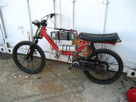 Electric Moped Progress