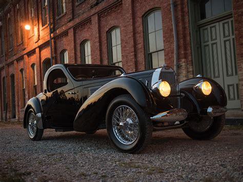 1938 Bugatti Type 57c Atalante Up For Auction