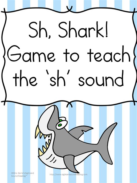 Sh Sound Digraph Game