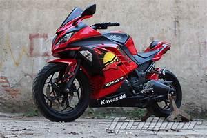 Kawasaki Ninja 250 Fi Tangerang  Modifikasi Ringan Ala Bos