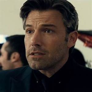 The stylish silver collar pin that Ben Affleck (Bruce ...