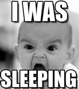 Sleeping Baby Meme