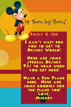 disney surprise letter 1000 images about disney invitation on disney
