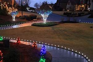 outdoor christmas yard decoration ideas With outdoor christmas lights for driveway