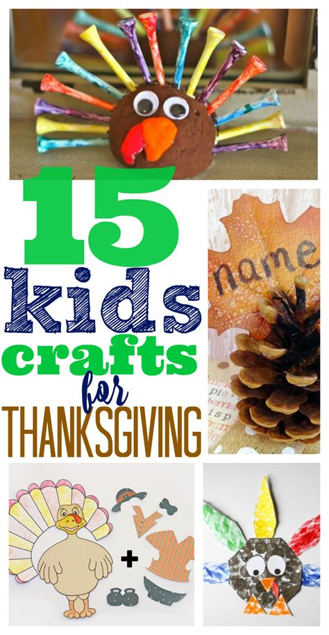 15 thanksgiving crafts for preschoolers and kindergarten 434 | 15 Kids Crafts for Thanksgiving