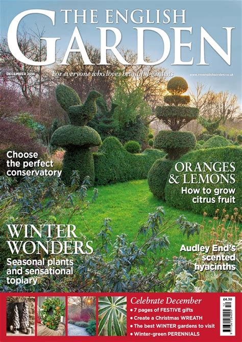 gardening mags subscribe save up to 58 off the english garden magazine