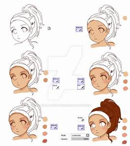 Anime skin shading tutorial by XMajutsu-shiX on DeviantArt