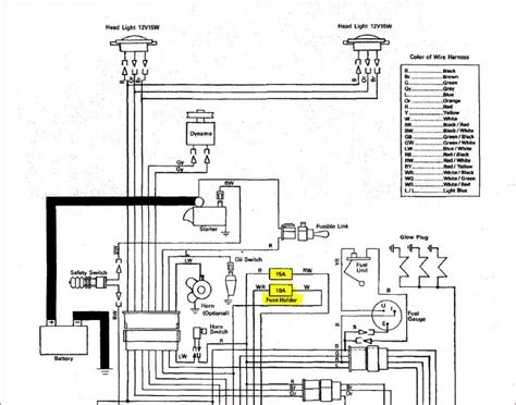 Kubotum Bx25 Wiring Diagram by Starter Switch Wiring Diagram For Kubota L175 Auto
