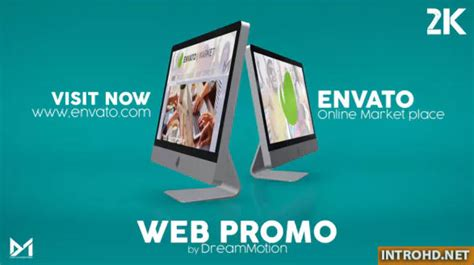 videohive web site promo   effects template