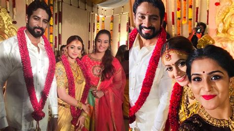 actress bhavana  naveen exclusive wedding