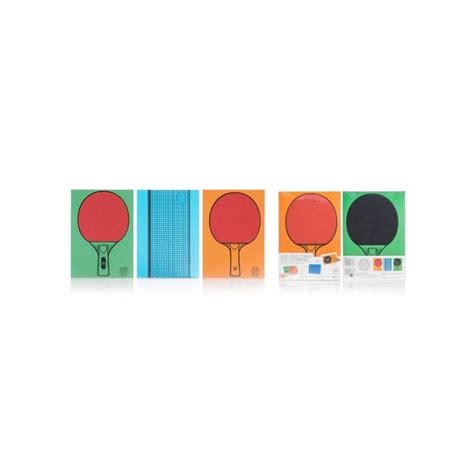 jouer au bureau carnets de notes originaux tennis de table carnets