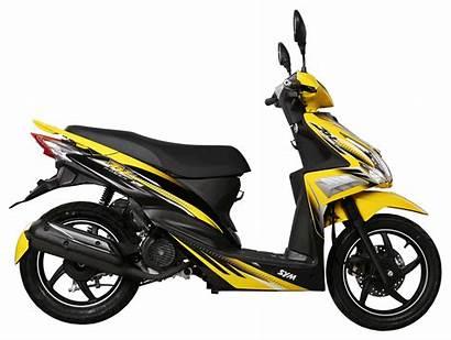 Sym Jet Power Bike Yellow