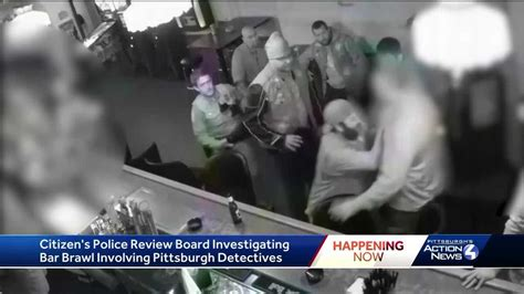video released  bar fight  pittsburgh police