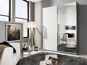 Schwebetürenschrank Weiß Grau : rauch schwebet renschrank essensa mit spiegel 2 t rig wei hg grau metallic ~ Markanthonyermac.com Haus und Dekorationen