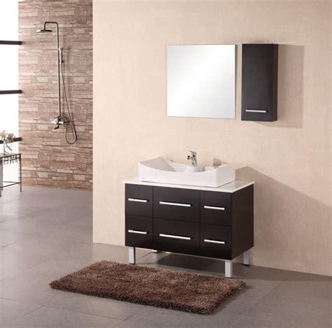 modern single sink vanity  espresso uvdea