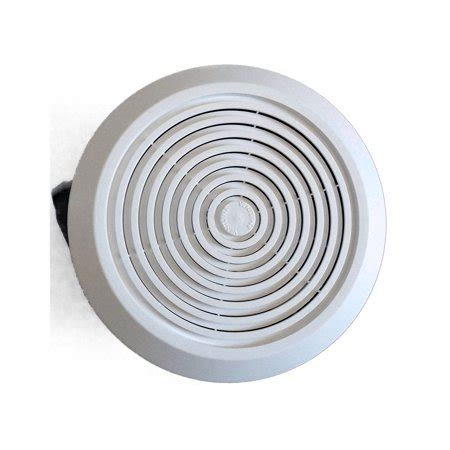 mobile home bathroom vent fan side exhaust  lighted