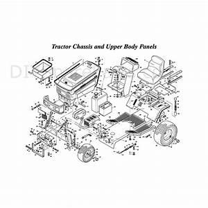 Westwood T1600 42 U0026quot  Tractor  T160042  Parts Diagram  Page 2