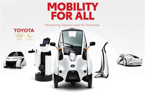 Toyota Olympics 2020 by Toyota To Bring Technologies To Olympic And