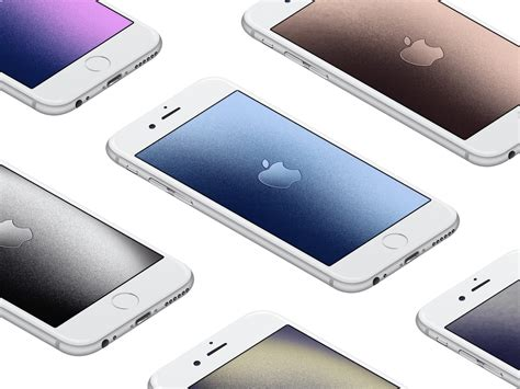 Aluminum Apple Logo Wallpapers For Iphone