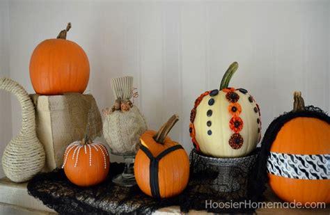 decorated pumpkins photos 6 easy decorated pumpkins hoosier homemade