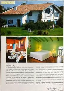 Le Logis Basque : revue de presse irigoian ~ Melissatoandfro.com Idées de Décoration