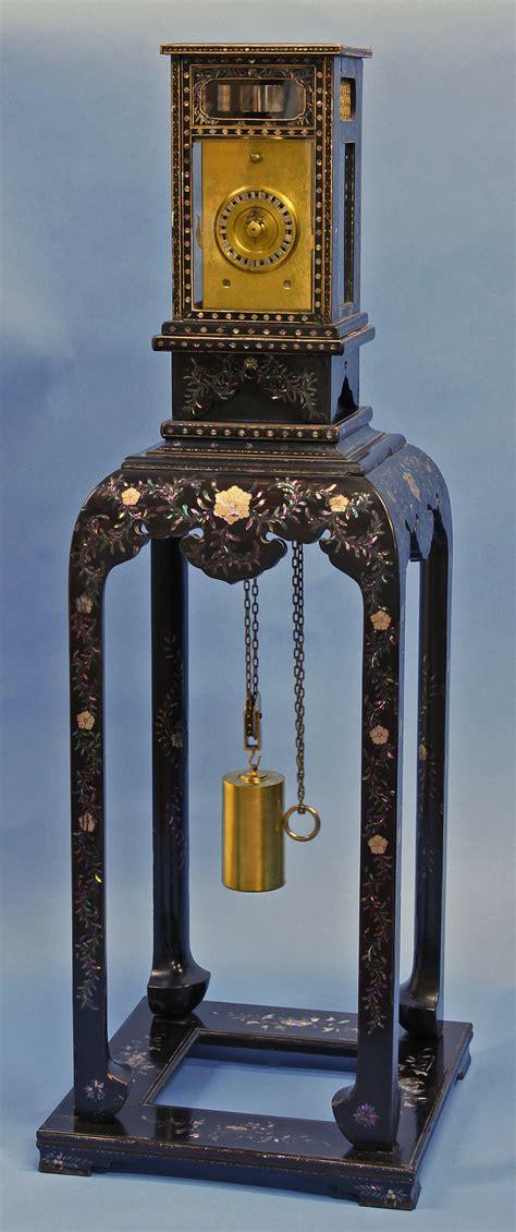 early  century rare japanese lantern clock sundialfarm