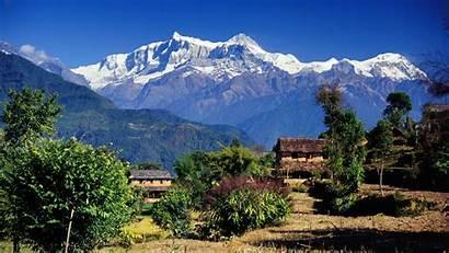 Nepal Wallpapers Village Travel Screen Screensavers Savers