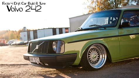 build a volvo truck forza 4 drift car building tuning 2 volvo 242 youtube