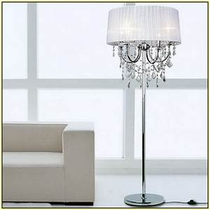 crystal chandelier floor lamps home design ideas With chandelier floor lamp au