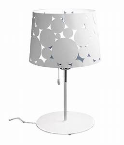 Leds c4 white steel 120w table lamp leds c4 ledsc4 for Table lamp flipkart