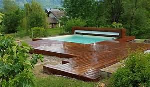 Bois Terrasse Piscine : terrasse en bois plage de piscine vercors piscine ~ Melissatoandfro.com Idées de Décoration