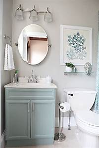 light blue vanity light gray walls pictures photos and With what kind of paint to use on kitchen cabinets for turquoise bathroom wall art