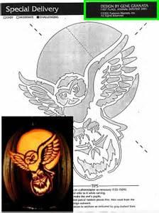 Grim Reaper Pumpkin Stencil Free by Pumpkin Masters Pattern List
