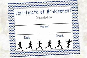 cross country certificate jog a thon award running With running certificates templates free