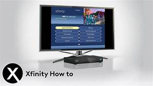 How To Self-install Xfinity Tv