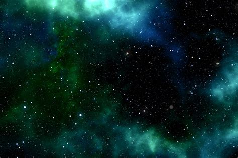 Green Galaxy 6k Uhd Wallpaper Wallpapersgg