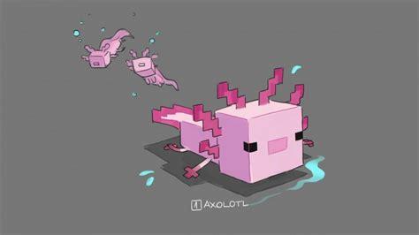 minecraft  complex   axolotls rock paper