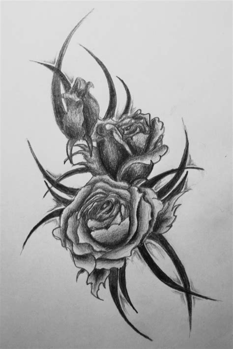 Rose Tattoo Images & Designs