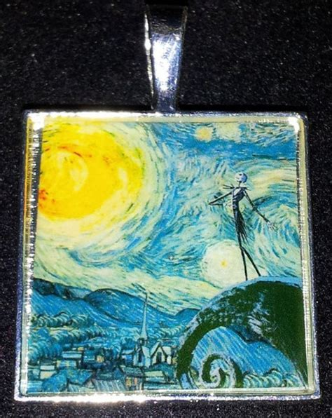 Disney Nightmare Before Christmas Vincent Van Gogh Starry