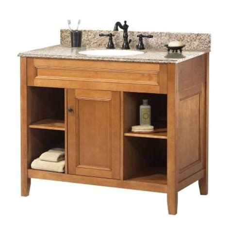 foremost exhibit 37 in w x 22 in d vanity in rich