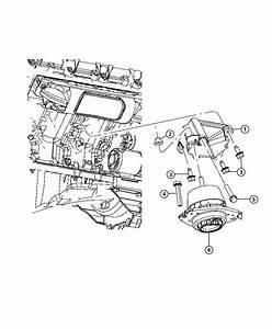 Jeep Grand Cherokee Isolator  Engine Mount  Left Side