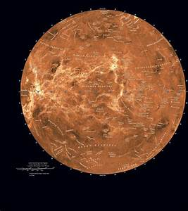 Planet Venus Surface Features - Pics about space