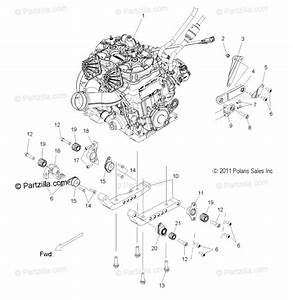 Polaris Snowmobile 2012 Oem Parts Diagram For Engine