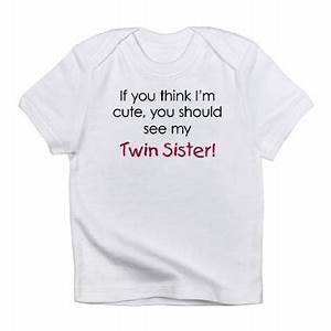 Cute Twin Quote... Twin Sister Cute Quotes