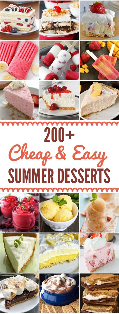 Best 25+ Easy Cheap Desserts Ideas On Pinterest