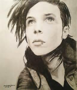 Andy Biersack Drawing