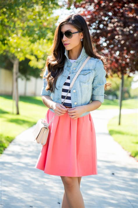 Saying Goodbye to Summer with Pastel Pink and Blue